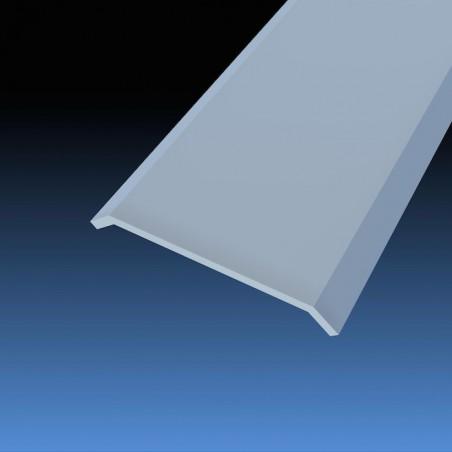 Barre de seuil 30 mm même niveau plate adhésif réf. 008