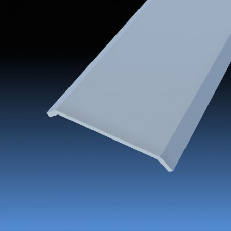 Cover strip 30 mm same level slim adhesive ref. 008