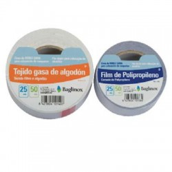 Cinta doble cara 25 mts x 50 mm polipropileno blister